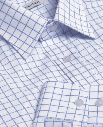 The Axiom Check Shirt - Men's - Men's Business Shirts NZ