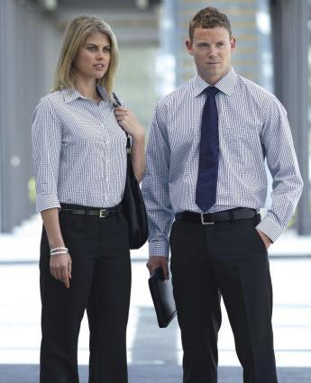 The Folio Check Shirt - Men's - Men's Business Shirts NZ