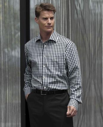 Hartley Check Shirt - Men's Business Shirts NZ