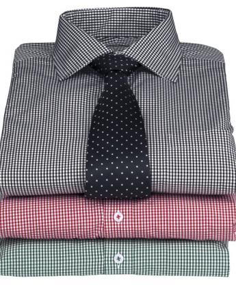 Kingston Check Shirt - Men's - Men's Business Shirts NZ