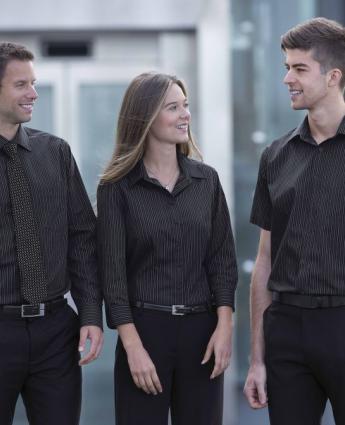 Omega Stripe Shirt - Men's - Men's Business Shirts NZ