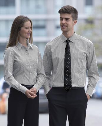 Wynyard Stripe Shirt - Men's - Men's Business Shirts NZ