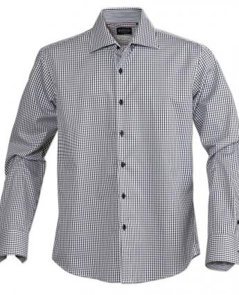 Mens Black Check