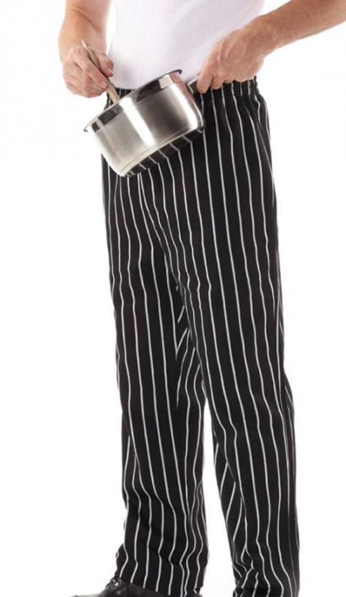 JB-5SP Striped Chef's Pants