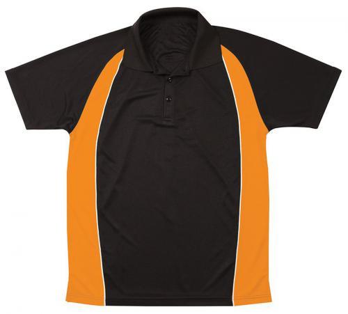 Black/fluro orange