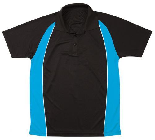 Black/Pacific blue