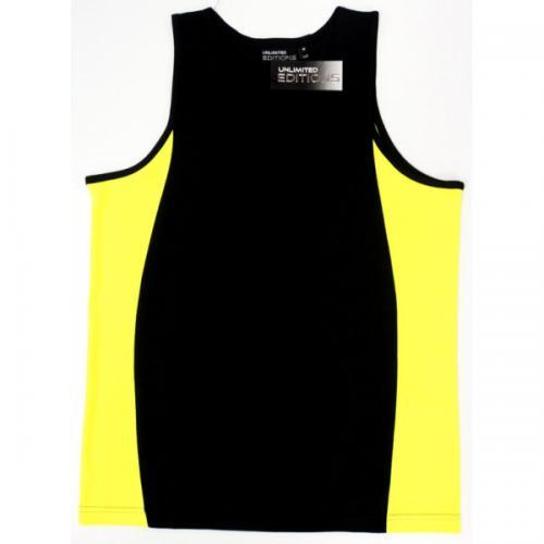 Black/fluro yellow