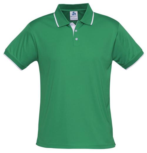 Mens Green/white