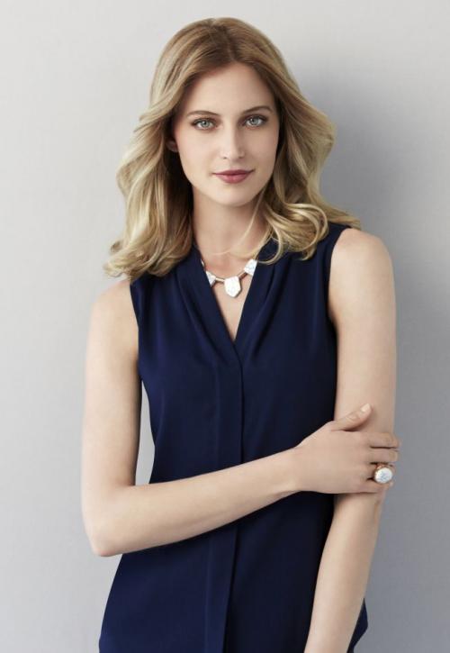 Madison Sleeveless  - Women's Short Sleeve Shirts for work