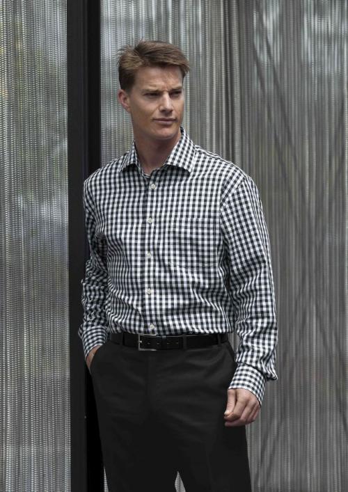 Hartley Check Shirt - Men's Business Shirts NZ