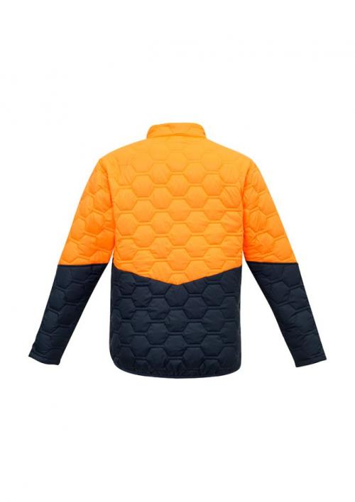 FB-ZJ420 Orange/navy - Back