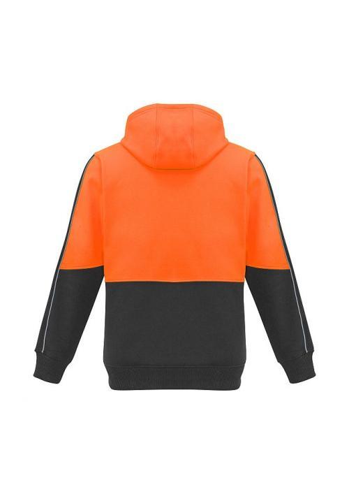 FB-ZT484 Orange/charcoal - back