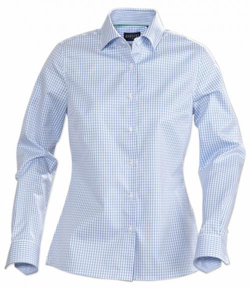 Ladies Light Blue Check