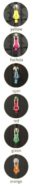 Zip Puller Colours